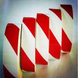 Pente de couleur blanche et rouge Stipe grade commercial 3200 de type acrylique bâches réfléchissante