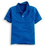 Les enfants de tee-shirt Polo en coton