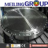 La perforación de mecanizado CNC perforados tubos de acero forjado forja hojas las hojas de tubo