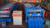 Roulis glacé hydraulique de tuile formant les machines/la chaîne de fabrication glacée par toiture de tuile