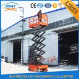 Hydraulic AUTOMATIC Battery Powered Scissor elevator Electric Scaffolding