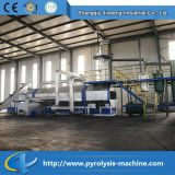 Machine de traitement en plastique à déchets continus