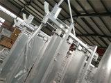 Scivolo di compressione di schiacciamento di uso dell'iarda della mucca del bestiame con la scala elettrica da vendere