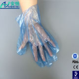 Polyäthylen-Nahrungsmittelhandhaben geprägte freie Wegwerf-PET Handschuhe
