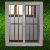 Ventana de UPVC Popular antirrobo con acero inoxidable Net