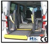 Гидровлический подъем кресло-коляскы wl-D с платформой нержавеющей стали может нагрузить 350kg