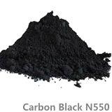 Nero di carbonio utilizzato in plastica, gomma, pneumatico, PVC