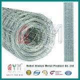 Tela metálica hexagonal revestida del PVC del acoplamiento de alambre de pollo del acoplamiento de alambre