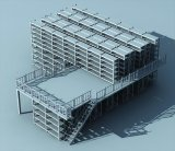 Sünde-Sino Selctive Lager-Ladeplatten-Racking-System