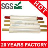 Envoltório vermelho material opaco da pálete de LLDPE