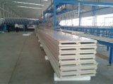 Теплоизоляция строительные материалы PU сэндвич панелей композитный изолированный панели крыши