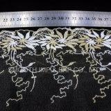 Мода одежды аксессуар Net пряжа вышивка кружевной ткани из текстиля одежды