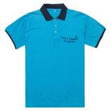 Camicia di polo di colore di contrasto dell'abito di prezzi di fabbrica di buona qualità (PS053W)
