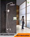 Hot Sale averse de pluie en acier inoxydable pour baignoire douche