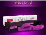 Giocattoli del sesso del vibratore del Dildo del silicone del G-Punto di Injo per le donne (IJ-V100074)
