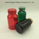 Colores personalizados MD-376 200cc de plástico PET Botella Sloping-Shoulder