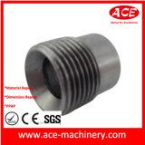 CNC que faz à máquina a peça girada do soquete de alumínio
