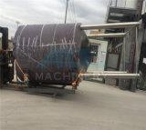 真空のミキサーのホモジェナイザーののりの混合タンク、ボディローションのクリーム色の作成機械