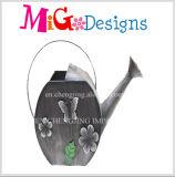 Lata de rega metálica personalizada com alça grande OEM
