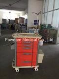 Trolley de emergência médica hospitalar