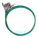Cordon de connexion Om3 de fibre optique