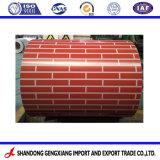 El color de alta calidad de la bobina de acero recubierto de/PPGI para metal roofing
