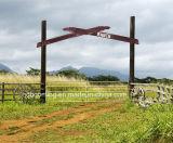 Покрынный порошок или Pre горячий гальванизированный DIP пускают ограждать по трубам фермы