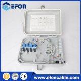 caixa de distribuição do cabo ao ar livre do divisor do PLC 1X16