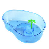 Serbatoio di pesci libero di plastica della Camera dell'animale domestico della tartaruga