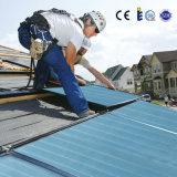 Panneau d'énergie solaire à plaque plate de 2 mètres carrés avec titane bleu et revêtement chromé noir