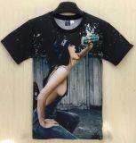 남자 여자 Drink Fun Personality T-Shirt 섹시한 상단 여름 3D 인쇄 섹시한 숙녀