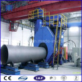 Macchina di granigliatura per pulizia della superficie della parete esterna dei tubi d'acciaio