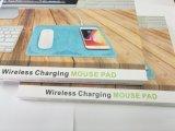 Nuevo teléfono móvil de Qi de bajo costo Cargador Inalámbrico mouse pad Pad de carga inalámbrica para teléfono móvil