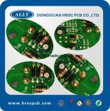 Circuit de circuit imprimé de cuisin électrique au four avec composants