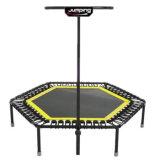 Reemplazable por el hexagonal cuerdas elásticas Saltar Fitness Club utilizar Springless trampolín