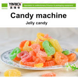 묵 과일 사탕 기계 세륨 (GDQ150)를 가진 사탕 기계 고무 같은 기계를 요리하는 지속적인 진공으로 갖춰지는 완전히 자동적인 젤리 빈 선