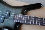 Guitare musique/4-String basse électrique noire de Hanhai avec 24 frettes