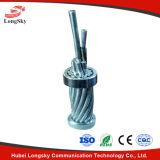 Mitte-Gegründetes Edelstahl-Gefäß Opgw optisches Kabel-Opgw