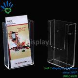 Stand acrylique Pocket simple d'insecte de perspex de support d'étalage de brochure pour le compteur