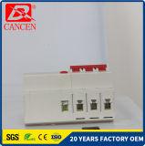 Предохранение от RCCB MCB C45-63 1p утечки земли к фабрике 4p MCB направляет раковину Plasctic польностью медного контакта серебра катушки пожаробезопасную