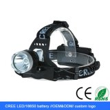 1800lmクリー族のXm-L T6 LED再充電可能なLEDのヘッドライト