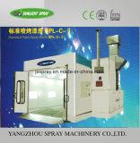 Cabine de pulverização de automóveis com sistema de aquecimento Eleatric