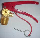 CO2 огнетушитель клапан