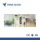 La seda Serigrafiada vidrio templado con diseño personalizado