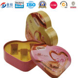 Cuore Shaped Decorate Wedding Tin Boxes per Packing Jy-Wd-2015120703