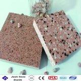 小さい石造りの穀物が付いている二重層のTerrazzoの床タイル