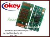 Puce de la cartouche de haute qualité 9100 Chip pour Konica Minolta