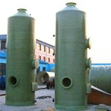 FRP GRP Biogas 정화 가스 젖은 수세미 탑