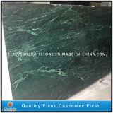 Marmo verde naturale per le mattonelle di pavimento, controsoffitto, Worktops dell'India Verde