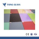 背部によって塗られる装飾的な薄板にされたガラスの建築艶出し